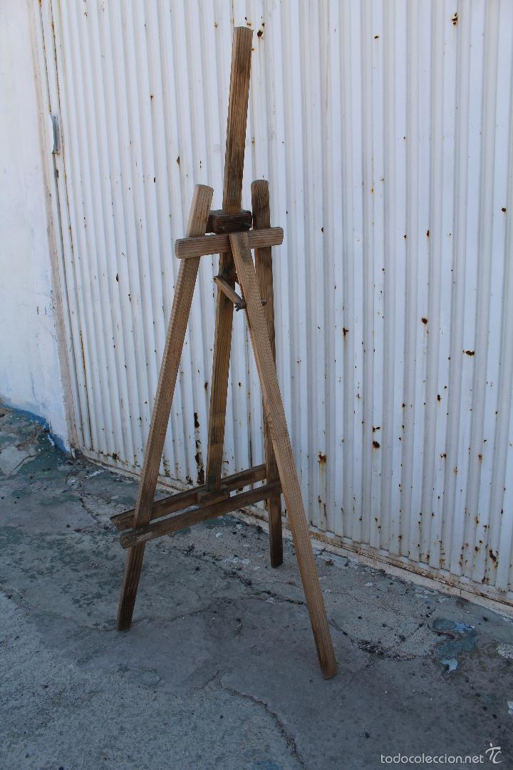 Arte: caballete de pintor en madera - Foto 5 - 58085202