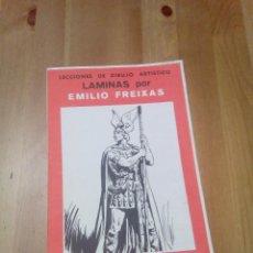 Arte: LÁMINAS DE DIBUJO POR EMILIO FREIXAS. Lote 75048083