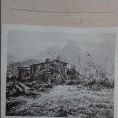 Arte: DIPTICO.E.GARRALDA.GALERIA ARTE LA PINACOTECA.BARCELONA.1980. Lote 95551963