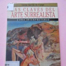 Arte: LIBRARTE-LAS CLAVES DEL ARTE SURREALISTA-LUCÍA GARCÍA DE CARPI-PLANETA-FORRADO-PERFECTO-VER FOTOS. Lote 95936975