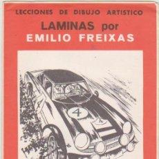 Arte: LECCIONES DE DIBUJO ARTÍSTICO. LÁMINAS POR EMILIO FREIXAS. SERIE Nº 40.. Lote 95960767