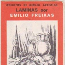 Arte: LECCIONES DE DIBUJO ARTÍSTICO. LÁMINAS POR EMILIO FREIXAS. SERIE Nº 42.. Lote 95961147