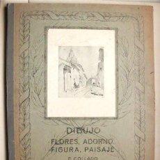 Arte: ANTIGUA CARPETA GRANDE PARA DIBUJOS. P. COLLADO. IMP. LIT. AFRODISIO AGUADO. VALLADOLID - PALENCIA. Lote 102030379