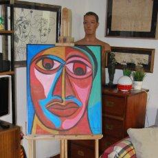 Arte: CABALLETE DE MADERA - REGULABLE - AÑOS 60 - GRAN TAMAÑO. Lote 111181087