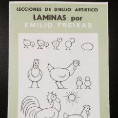 Arte: CARPETA DE LAMINAS DE DIBUJO EMILIO FREIXAS INFANTIL C-1. Lote 128636595