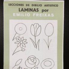 Arte: CARPETA DE LAMINAS DE DIBUJO EMILIO FREIXAS INFANTIL C-2. Lote 128636667