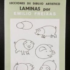 Arte: CARPETA DE LAMINAS DE DIBUJO EMILIO FREIXAS INFANTIL C-3. Lote 128637499