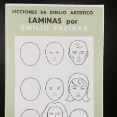 Arte: CARPETA DE LAMINAS DE DIBUJO EMILIO FREIXAS INFANTIL C-4. Lote 128637655