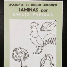 Arte: CARPETA DE LAMINAS DE DIBUJO EMILIO FREIXAS INFANTIL C-5. Lote 128637795