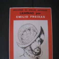 Arte: CARPETA DE LAMINAS DE DIBUJO EMILIO FREIXAS SERIE ROJA NÚMERO 9. Lote 129026763