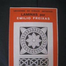 Arte: CARPETA DE LAMINAS DE DIBUJO EMILIO FREIXAS SERIE ROJA NÚMERO 16. Lote 129027111