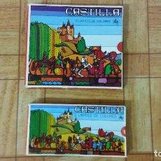 Arte: COLECCIÓN DE CAJAS DE LÁPICES DE COLORES CASTILLA, AÑOS 70. Lote 174379662