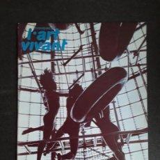 Arte: (REVISTA DE ARTE) L'ART VIVANT. Nº 34/ NOVEMBRE 1972.. Lote 144596418