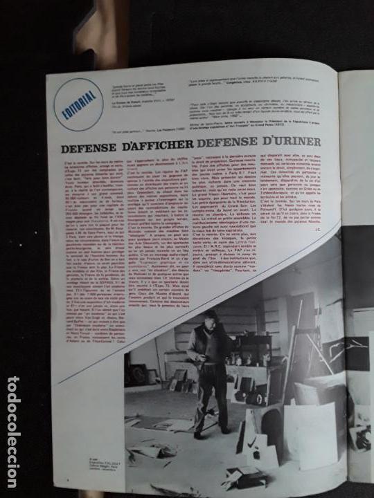 Arte: (Revista de Arte) L'art vivant. Nº 31/ juin-juillet 1972. Paris. Maeght. - Foto 4 - 144597094