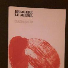 Arte: DERRIÈRE LE MIROIR. GARACHE. Nº213. MAEGHT, PARIS, MARZO-1975.ARTE MODERNO.. Lote 145117846