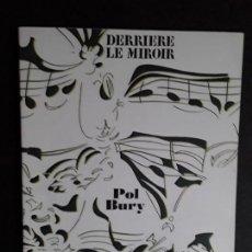 Arte: DERRIÈRE LE MIROIR. POL BURY. Nº209. MAEGHT, PARIS, ABRIL-1974. ARTE MODERNO.. Lote 145147110