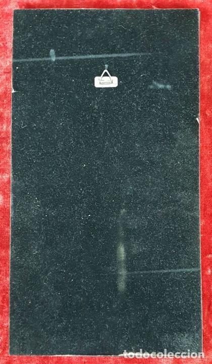 Arte: SANT JORDI. ESMALTE SOBRE COBRE. MARCO DE PLATA. FIRMADO A. RUEDA. SIGLO XX. - Foto 5 - 145576658