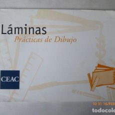 Arte: CUADERNO LAMINAS DE DIBUJO CEAC, 400X260,. Lote 151484218