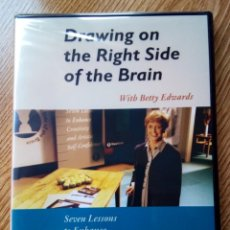 Arte: BETTY EDWARS - DVD: DRAWING ON THE RIGHT SIDE OF THE BRAIN, SEVEN LESSONS TO ENHANCE CREATIVITY.... Lote 151600066