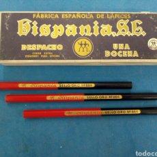 Arte: CAJA DE 12 LAPICES DE CEDRO, HISPANIA S.L. N° 884 , AÑOS 1960-70. Lote 156291253