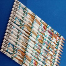 Arte: LOTE DE 17 LAPICES MASATS , CAPITALES DEL MUNDO , AÑOS 1960-70. Lote 209879717