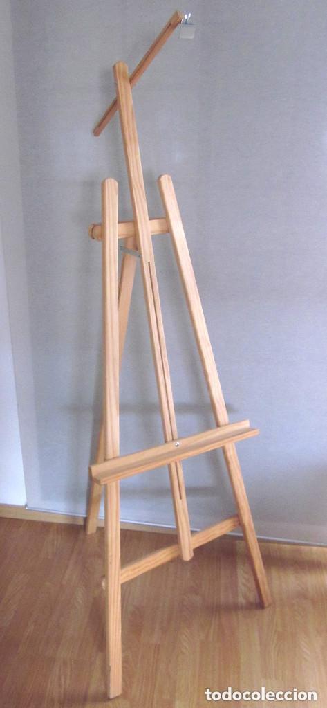 GRAN CABALLETE DE PINTOR MADERA 180 CM X 60 CM SIN USO NUEVO SÓLO RECOGER (Arte - Material de Bellas Artes)