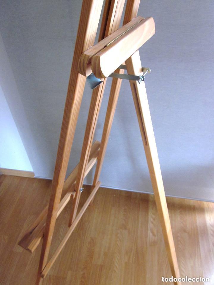 Arte: Gran caballete de pintor madera 180 cm x 60 cm sin uso nuevo SÓLO RECOGER - Foto 4 - 164691890