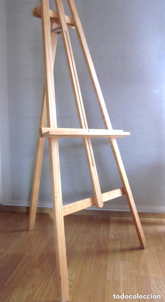 Arte: Gran caballete de pintor madera 180 cm x 60 cm sin uso nuevo SÓLO RECOGER - Foto 8 - 164691890
