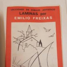 Arte: LÁMINAS DE EMILIO FREIXAS .SERIE Nº 1. - CON SUS 12 LAMINAS - TDKC20. Lote 169236348