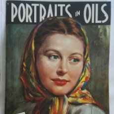 Arte: PORTRAITS IN OILS RETRATOS EN OLEO. Lote 171372418