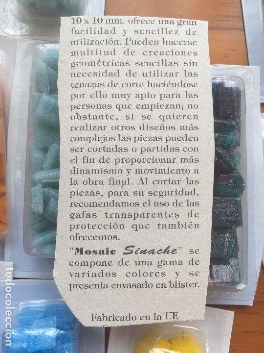Arte: Teselas mosaico. Pasta vitrea. Lote - Foto 3 - 173820142