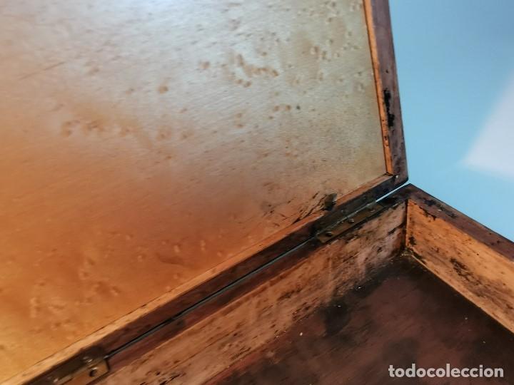 Arte: MALETIN CAJA ESTUCHE PINTURAS MADERAS NOBLES -GRAN CALIDAD F.S.S XIX-XX--PINTOR REF-DC - Foto 42 - 174952328