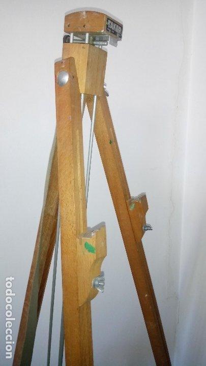 Arte: CABALLETE de PINTOR, PLEGABLE , en MADERA. - Foto 9 - 175053434