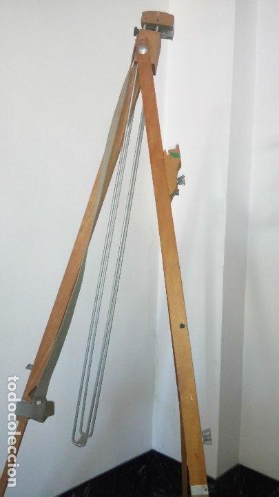 Arte: CABALLETE de PINTOR, PLEGABLE , en MADERA. - Foto 10 - 175053434