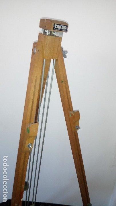 Arte: CABALLETE de PINTOR, PLEGABLE , en MADERA. - Foto 12 - 175053434