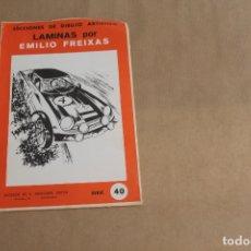 Arte: LECCIONES DE DIBUJO ARTÍSTICO, LAMINAS POR EMILIO FREIXAS, SERIE NÚMERO 40. Lote 178884933