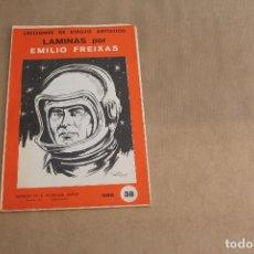 Arte: LECCIONES DE DIBUJO ARTÍSTICO, LAMINAS POR EMILIO FREIXAS, SERIE NÚMERO 38. Lote 178884958