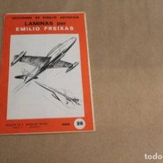 Arte: LECCIONES DE DIBUJO ARTÍSTICO, LAMINAS POR EMILIO FREIXAS, SERIE NÚMERO 28. Lote 178885076