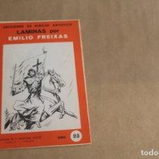 Arte: LECCIONES DE DIBUJO ARTÍSTICO, LAMINAS POR EMILIO FREIXAS, SERIE NÚMERO 23. Lote 178885137