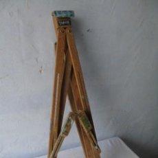 Arte: PINTURA OLEO CABALLETE PLEGABLE DE PINTOR COMPLETO. Lote 184252706