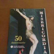 Arte: 50 ANIVERSARIO COFRADÍA SANTÍSIMO CRISTO DE LA MISERICORDIA.. Lote 187183737