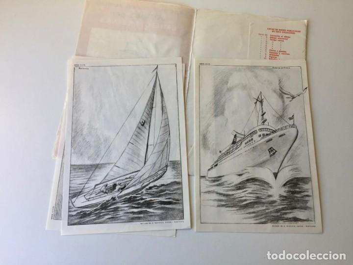 Arte: LECCIONES DE DIBUJO ARTÍSTICO - LAMINAS POR EMILIO FREIXAS SERIE 25 - COMPLETA CON 12 LÁMINAS - Foto 7 - 192258932