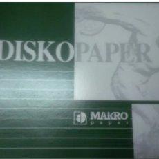 Arte: BLOCK DE DIBUJO DISKOPAPER, EDITORIAL MAKROPAPER. AÑOS. Lote 196210845
