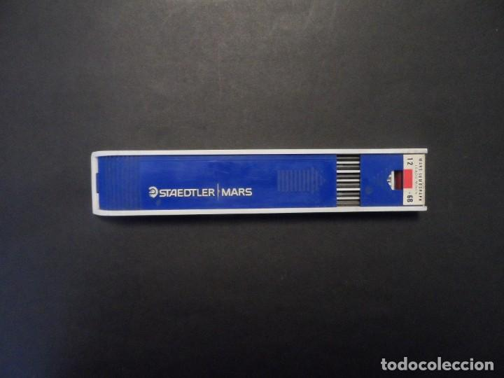 Arte: 12 MINAS STAEDTLER MARS CARBON 2 MM. MADE GERMANY. SIGLO XXI. SIN USAR - Foto 4 - 200060771