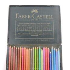 Arte: CAJA DE LAPICES DE COLORES MARCA FABER-CASTELL. Lote 204278040