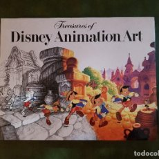 "Arte: ""TREASURES OF DISNEY ANIMATION ART"". Lote 207132616"