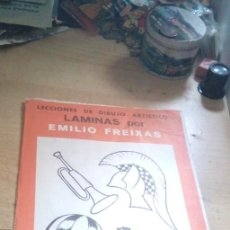 Arte: LECCIÓN DE DIBUJO ARTISTICO EMILIO FREIXAS. SERIE 0.12 LÁMINAS, COMPLETA. E. MESEGUER.. Lote 207165978