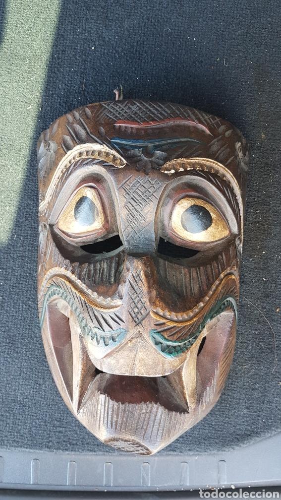 Arte: Máscara de madera - Foto 2 - 215618842