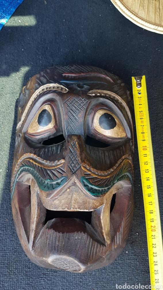 Arte: Máscara de madera - Foto 3 - 215618842
