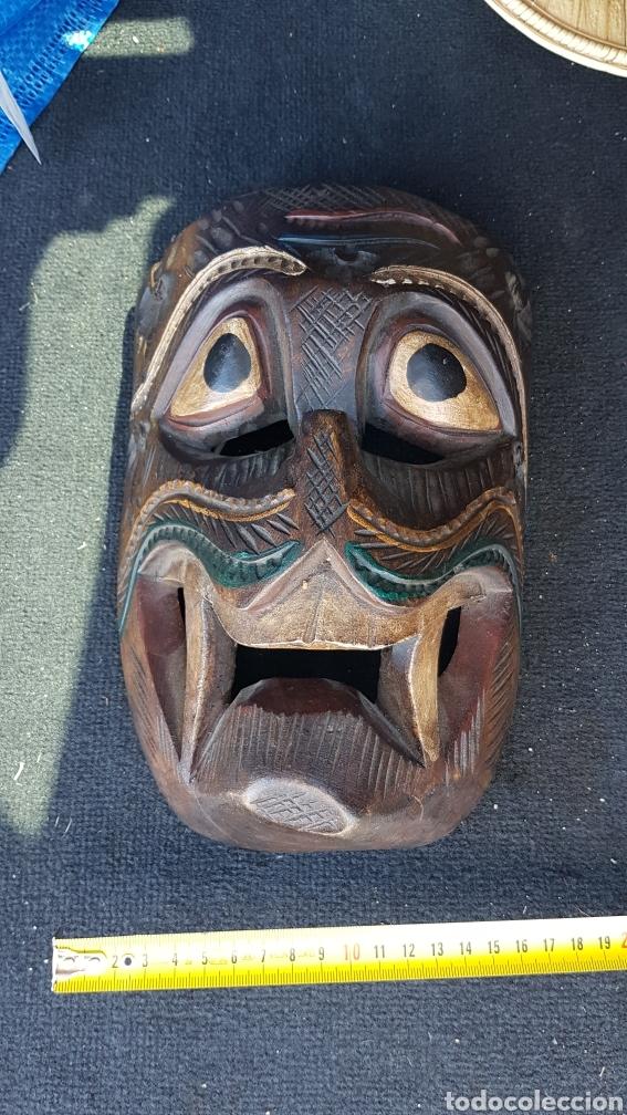 Arte: Máscara de madera - Foto 4 - 215618842